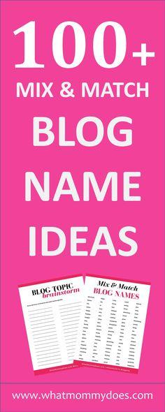 Make Money Blogging, Way To Make Money, Blogging Ideas, Make Blog, How To Start A Blog, Blog Writing Tips, Name Inspiration, Blog Planner, 2015 Planner