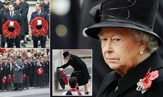 Britain honours the fallen: Thousands gather for Remembrance Sunday