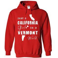 CALIFORNIA GIRLS IN VERMONT #shirt #fashion