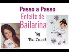 Neste vídeo ensino como fazer uma Bailarina muito fofa, para ser usada como enfeite de cortina, para decoração de quarto de meninas e também para festa infan... Clay Tutorials, Cold Porcelain, Diy Videos, Fondant, Youtube, Polymer Clay, Ballerinas, Ballerina Centerpiece, Craft Videos