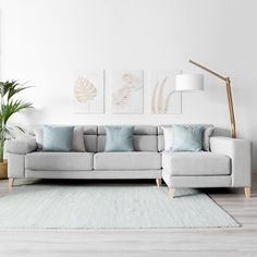 Nowadays, there are several corner sofa design ideas you can use to aid you design your home. Scandi Living Room, Living Room Sofa, Home Living Room, Living Room Designs, Living Room Decor, Corner Sofa Design, Scandinavian Sofas, Modular Sofa, Bedroom Furniture Sets