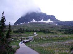 Loagans Pass .... Waterton-Glacier International Peace Park, Canada