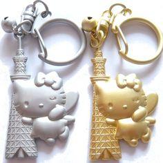 東京スカイツリーキーホルダー ハローキティ Metal KeyChain, Tokyo Sky Tree, Hello Kitty [東京スカイツリーグッズ・お土産・おみやげ・商品]