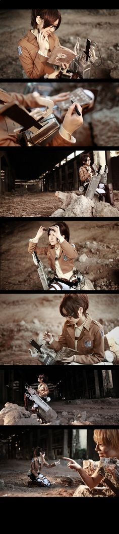 Attack on Titan Hanji Zoe4 by 35ryo.deviantart.com on @deviantART