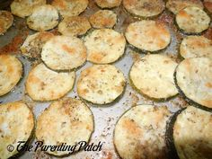 Oregano Parmesan Baked Zucchini Recipe. I'm Not a zucchini fan, but this was pretty good.  I added garlic, salt, and pepper.  I could still taste that is was zucchini...