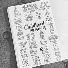 """1,902 Likes, 38 Comments - Bujo Blossoms (@bujo_blossoms) on Instagram: """"Childhood Memories . I wanted to thank everyone who shared their amazing ideas and a big thanks…"""""""