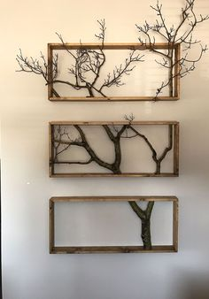 16 diy home decor out off tree branches 00005 Pallet Wall Decor, Diy Wood Wall, Diy Wall Decor, Diy Home Decor, Wood Art, Woodworking Projects Diy, Diy Wood Projects, Deco Originale, Diy Home Crafts