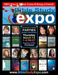 Heart Renovation will be one of ten books featured in the Bible Study Expo on March 14. I'm excited to represent all of its 30 authors for this interview! Join us to listen in and to check out all of the other books too!