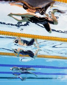 RIO DE JANEIRO, BRAZIL - AUGUST 07: (From top) Katie Meili of the United States, Lilly King of the United States, Jinglin Shi of China, Hrafnhildur Luthersdottir of Iceland and Satomi Suzuki of Japan compete in the second Semifinal of the Women's 100m Breaststroke on Day 2 of the Rio 2016 Olympic Games at the Olympic Aquatics Stadium on August 7, 2016 in Rio de Janeiro, Brazil. (Photo by Adam Pretty/Getty Images)