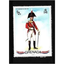 Výsledok vyhľadávania obrázkov pre dopyt stamp grenada regiment