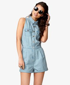 Womens playsuit, romper and jumpsuit | shop online | Forever 21 - 2045398457