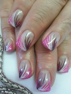 Pink free hand