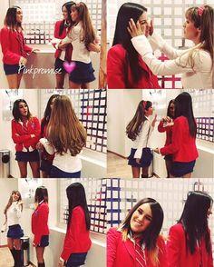 Mia, Lupita, y Roberta #Anahi #MaitePerroni #DulceMaria #Rebelde #RBD
