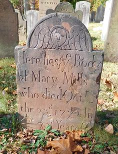 Mary Mills 1772 New Providence Presbyterian Churchyard, New Providence NJ Interesting Sites, New Providence, Cemetery Art, Angels Among Us, Best Sites, Memento Mori, Monuments, 18th Century, Angles