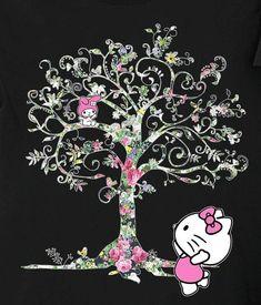Hello Kitty and My Melody Hello Kitty Backgrounds, Hello Kitty Wallpaper, Keroppi Wallpaper, Hello Sanrio, Hello Kitty Tattoos, Graphic Design Fonts, Hello Kitty Pictures, Dope Wallpapers, Hello Kitty Items