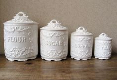 kitchen canister sets ceramic I don't know where to find this but I'm desperate to do so!  HELP!