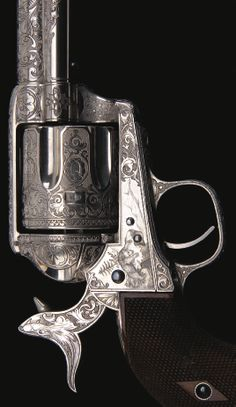 "Rare Panel Scene Engraved Colt Single Action Army Revolver, ""The 1876 Centennial Exhibition Colt"" U.S.A."