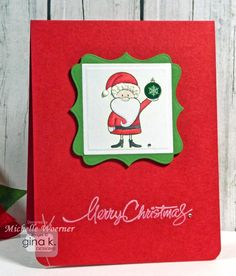 We know this is the time of the year to start mass producing our hand made Christmas cards and we are all looking for some CAS card design inspiration. Description from stopandstamptheroses.blogspot.com. I searched for this on bing.com/images