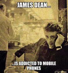 James Dean using Babylonokia