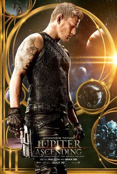 Jupiter Ascending Poster featuring Channing Tatum