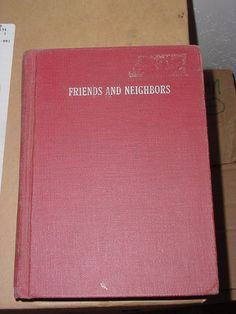 Vintage Reader, Friends and Neighbors 1946. $9.50, via Etsy.
