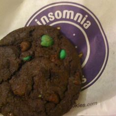 Insomnia's chocolate mint cookie is my absolute fave cookie in the whole entire world!