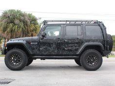 GOBI USA® Stealth Roof Rack System for 07-up Jeep® Wrangler JK 4-Door