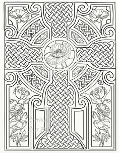 Celtic Knots Adult Coloring Book 30 Pages Lozs Art Lorraine Kelly PDF Download In Books