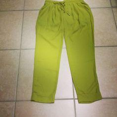Green Pants:)