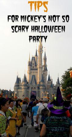 Tips for Mickey's Not So Scary Halloween Party at Walt Disney World. #Orlando #WaltDisneyWorld #Travel