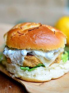 Learn how to grill up the perfect salmon burger for those summer parties.