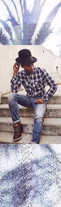 Männlicher Style! Dieses Flanellhemd von Mustang hat alles, was echte Männer brauchen! In moderner, schlanker Form und mit optimalen Trage- und Pflegeeigenschaften dank des hochwertigen Materials ist das klassische Herrenhemd in legerem Design ein idealer Begleiter für Job und Freizeit. Dazu noch passende Boots und cooler Jeans.