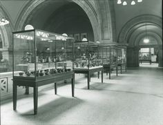 Cases on the Great Hall Balcony
