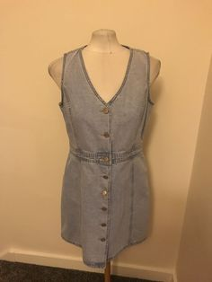 76d1a953bbbd0 ...  accessories  womensclothing  dresses (ebay link). See more. Ladies  Light Blue Denim Look Dress Size 14 New Look  fashion  clothing  shoes