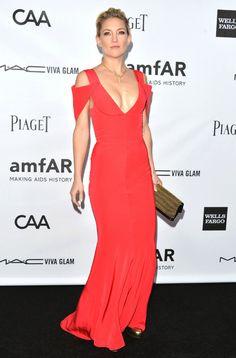 #Kate Hudson in Prabal Gurung  red dresses #2dayslook #new #dresses #nice  www.2dayslook.com