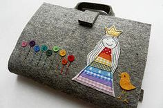 Brush-pen Artist Tote with little princess