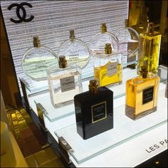 Chanel Bridged Glass Display Main