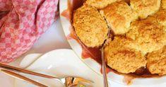 Szilvás-őszibarackos cobbler recept képpel. Hozzávalók és az elkészítés részletes leírása. A szilvás-őszibarackos cobbler elkészítési ideje: 55 perc