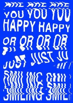 ARE YOU HAPPY OR JUST SMILING / print and more