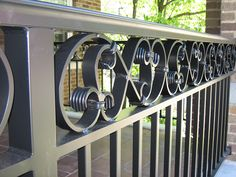 railings for stairs exterior | Old Dutchman's Wrought Iron :: Railings