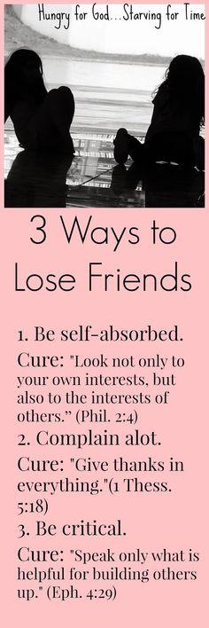 Good reminder....