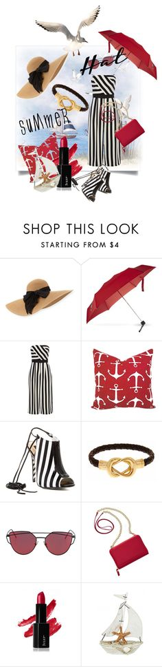 """Summer Hats"" by kari-c ❤ liked on Polyvore featuring Eugenia Kim, Victorinox Swiss Army, Coast, Alejandra G, Fornash, TravelSmith and summerhat"