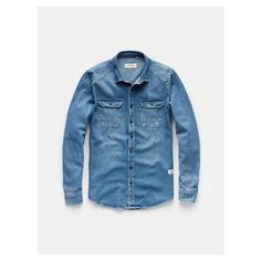 Overhemd, Denim overshirt - The Sting