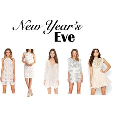 Inspiration of the day! Andrea Santana Blog - NYE White Dresses. Following Brazilian tradition on NYE!  View full post on the blog!
