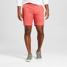Men's 8 Club Shorts Red 40 - Merona