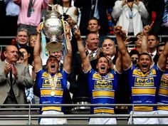 Kevin Sinfield will leave the Leeds Rhinos at the end of the 2015 season in order to move to rugby union and join sister-club Yorkshire Carnegie, it has been announced. Leeds Rhinos, Christmas And New Year, Xmas, Le Happy, Rugby League, Bring It On, Baseball Cards, Sports, Hs Sports