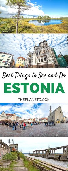 6 experiences you must have when visiting Estonia. Explore the capital of Tallinn and stroll along the cobblestone streets. Escape the city and head out into nature at Soomaa National Park to go bog walking or even go night canoeing. Immerse yourself in the culture by visiting these off the beaten path attractions. Travel in Estonia. | Blog by the Planet D #Estonia