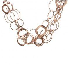 Ippolita: Rose Gold Multi-Strand Link Necklace