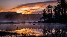 The last sunset before nightless night, 300km above the arctic circle in Inari, Finland - Imgur