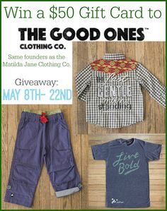 Boys Fashion from The Good Ones | Review   A $50 Gift Card Giveaway